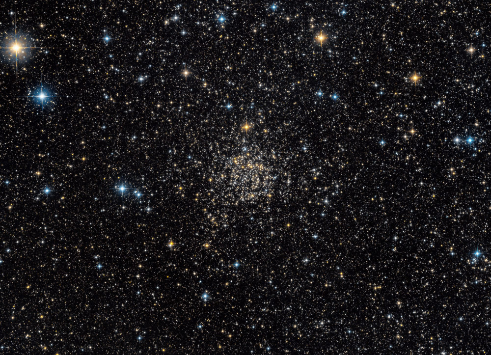 Cassiopeia Constellation Star cluster