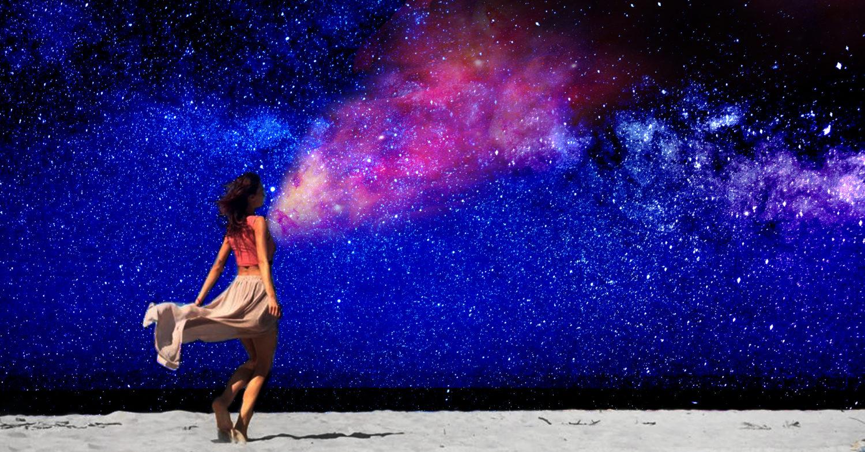 Stąpam po piasku i biegnę do gwiazd