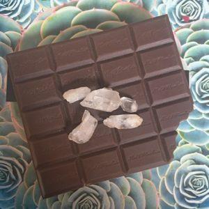 Mały notes w kształcie czekolady do zapisywania powodów do wdzięczności